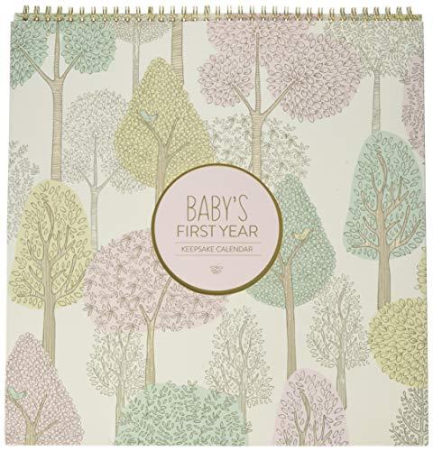 C.R. Gibson Woodland Themed First Year Calendar for Babies and Newborns by DwellStudio, 11