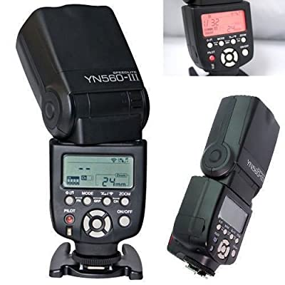 YONGNUO YN560 III Flash Speedlight for Canon Nikon Pentax Olympus Camera from Yongnuo