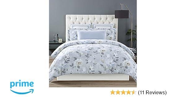 cc87bd5278534 Amazon.com  Christian Siriano Soft Floral King 3 Piece Duvet Cover Set   Home   Kitchen
