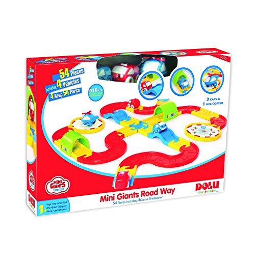 Dolu Large 54 Piece Colourful Mini