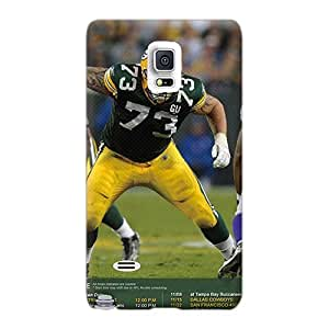 Scratch Resistant Cell-phone Hard Cover For Samsung Galaxy Note 4 With Custom Nice Green Bay Packers Pictures MarcClements