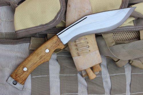 EGKH. Genuine Gurkha Aeof Kukri - 6'' Hand Forged Blade Authentic British Gurkha Super Mini Afghan Khukuri - Handmade By Ex Gurkha Khukuri House in Nepal