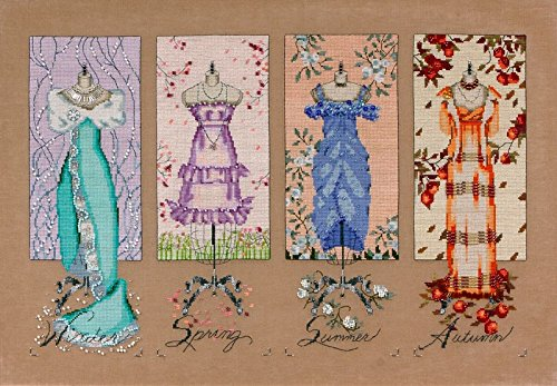 Mirabilia Nora Corbett Cross Stitch Chart - Dressmakers Daughter