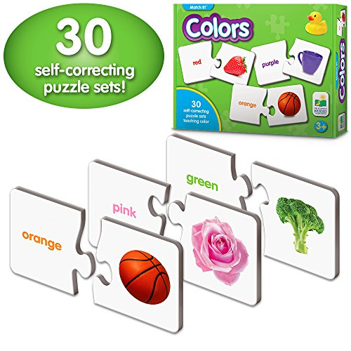 The Learning Journey: Match It! - Colors - Self-Correcting Color Name Matching ()