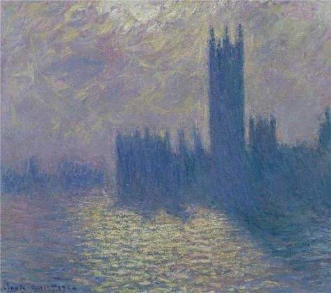 Oil Painting 'Houses Of Parliament, Stormy Sky, 1903 By Claude Monet' 8 x 9 inch / 20 x 23 cm , on High Definition HD canvas prints is for Gifts - Finder Store Myer