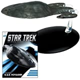 Star Trek Starships USS Voyager Armored Vehicle with Collector Magazine