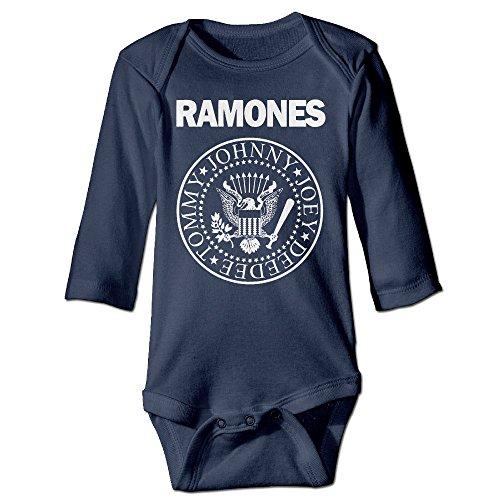 Ramones Punk Rock Band Long Sleeve Newborn Bodysuits