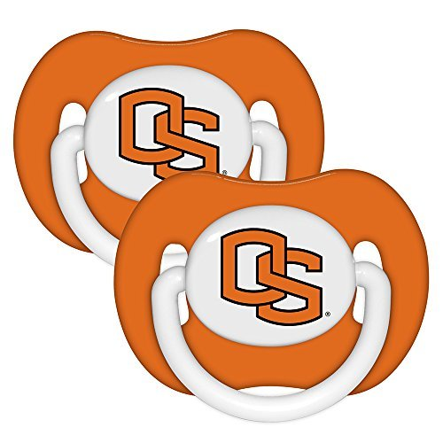 NCAA Oregon State Baby Pacifiers 2 Pack by Baby Fanatic [並行輸入品]   B01AKZXNFS