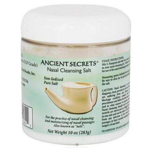 (Ancient Secrets Nasal Cleansing Salt - 10 Oz)
