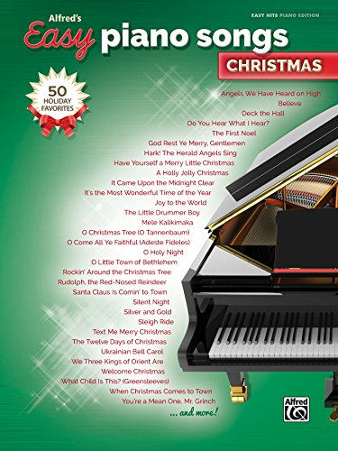 Alfred's Easy Piano Songs -- Christmas: 50 Christmas Favorites ()