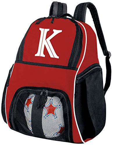 Broad Bay Personalized Soccer Backpack - Customized Soccer Bag Soccer Gift by Broad Bay