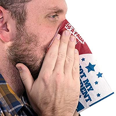 Fairly Odd Novelties FON-10257 Donald Trump Snot My President Full Color Facial Tissues Political Novelty Joke Gag Gift: Toys & Games