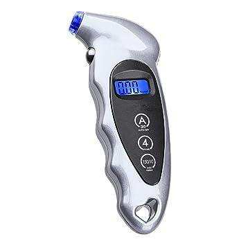 Electrónica Digital Display Presión De Los Neumáticos Contando Pantalla Auto Neumático Manómetro Número Detector Cinco Selección De Color (Color : La ...
