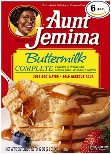 Amazon aunt jemima complete pancake mix buttermilk 32 ounce aunt jemima complete pancake mix buttermilk 32 ounce boxes pack of 6 ccuart Images