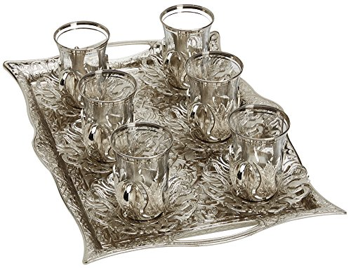 Turkish Tea Set Glasses Holders