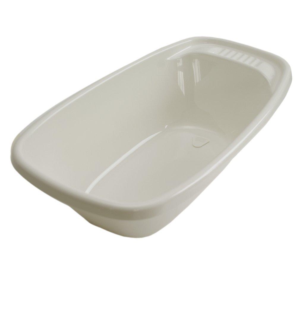 Baignoire pour B/éb/é bouchon de vidange blanc contenance: 35 L Geuther