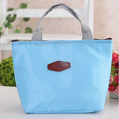 Lunch Bag, Franterd Waterproof Portable Food Storage Box Tote Insulated Picnic bags