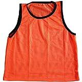 Energi8_blu New Scrimmage Practice Vests PINNIES Soccer Youth Orange