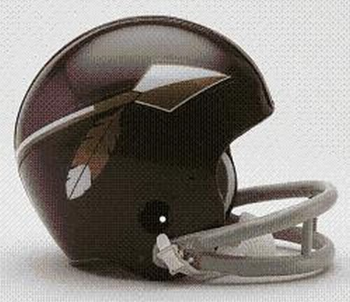 Amazon.com   Washington Redskins (1965-69) Authentic Mini NFL Throwback  Helmet by Riddell   Sports Related Collectible Mini Helmets   Sports    Outdoors df799ed6d