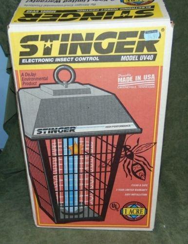 Stinger UV40 Outdoor Patio Deck Bug Zapper Killer