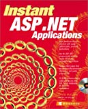 Instant ASP.Net Applications, Greg Buczek, 0072192917
