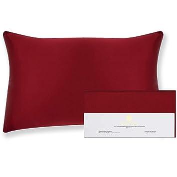 Amazon.com: Beauty of Orient – Funda de almohada de seda de ...