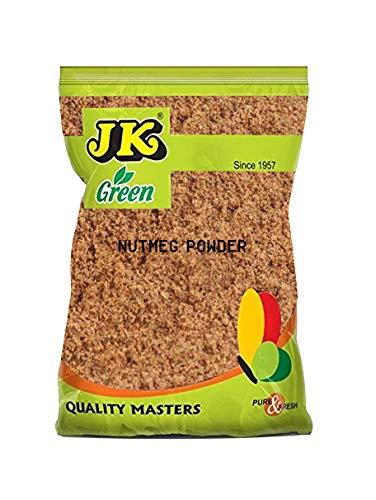 JK Indian Spice Nutmeg Ground (Jaiphal, 100% Natural, NON-GMO & GLUTEN FREE) Powder - 3.53 oz/ 100g