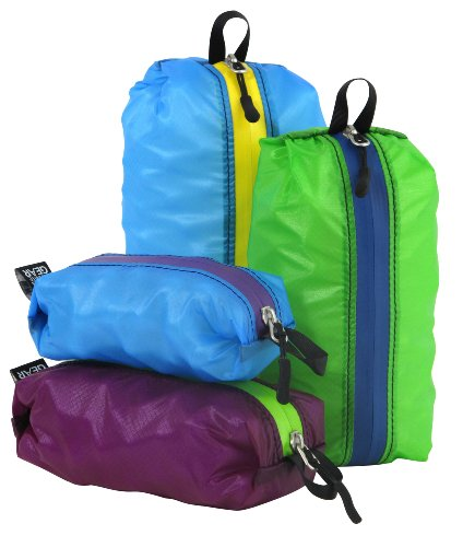 Granite Gear Air Zipditty Zippered Pouch Set - 2 1L (Solid Sack Stuff)