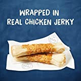 Purina Busy Grain Free Small/Medium Breed Dog Jerky Rawhide Treats, Jerky Wraps Beefhide & Chicken - (5) 4 ct. Pouches