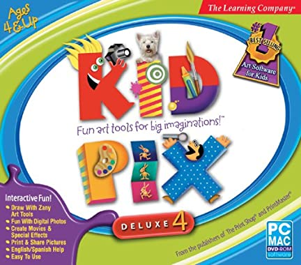 Kid Pix Deluxe 4 Home Edition did