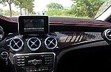 Eppar  Carbon Fiber Center Dash Board Cover for Mercedes ...