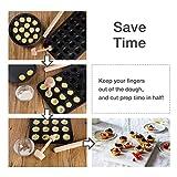 Webake Tart Tamper Wood Pastry Tart Tamper with