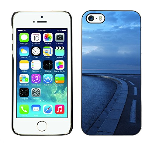 Hülle Case Schutzhülle Cover Premium Case // F00002995 draussen // Apple iPhone 5 5S 5G