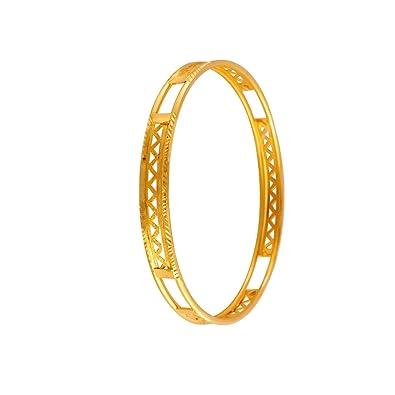 bf00c0edc714e P.C. Chandra Jewellers 22KT Yellow Gold Bangle for Women: Amazon.in ...