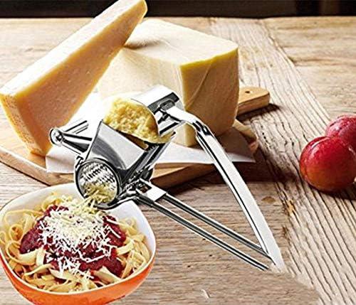Winnes R/âpe /à Fromage rotative r/âpe /à Fromage en Acier Inoxydable Moulin /à R/âpe Fromage pour l/égumes et Fromage