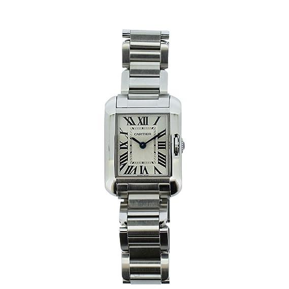 Cartier Tank Francaise Cuarzo Mujer Reloj W5310022 (Certificado) de Segunda Mano