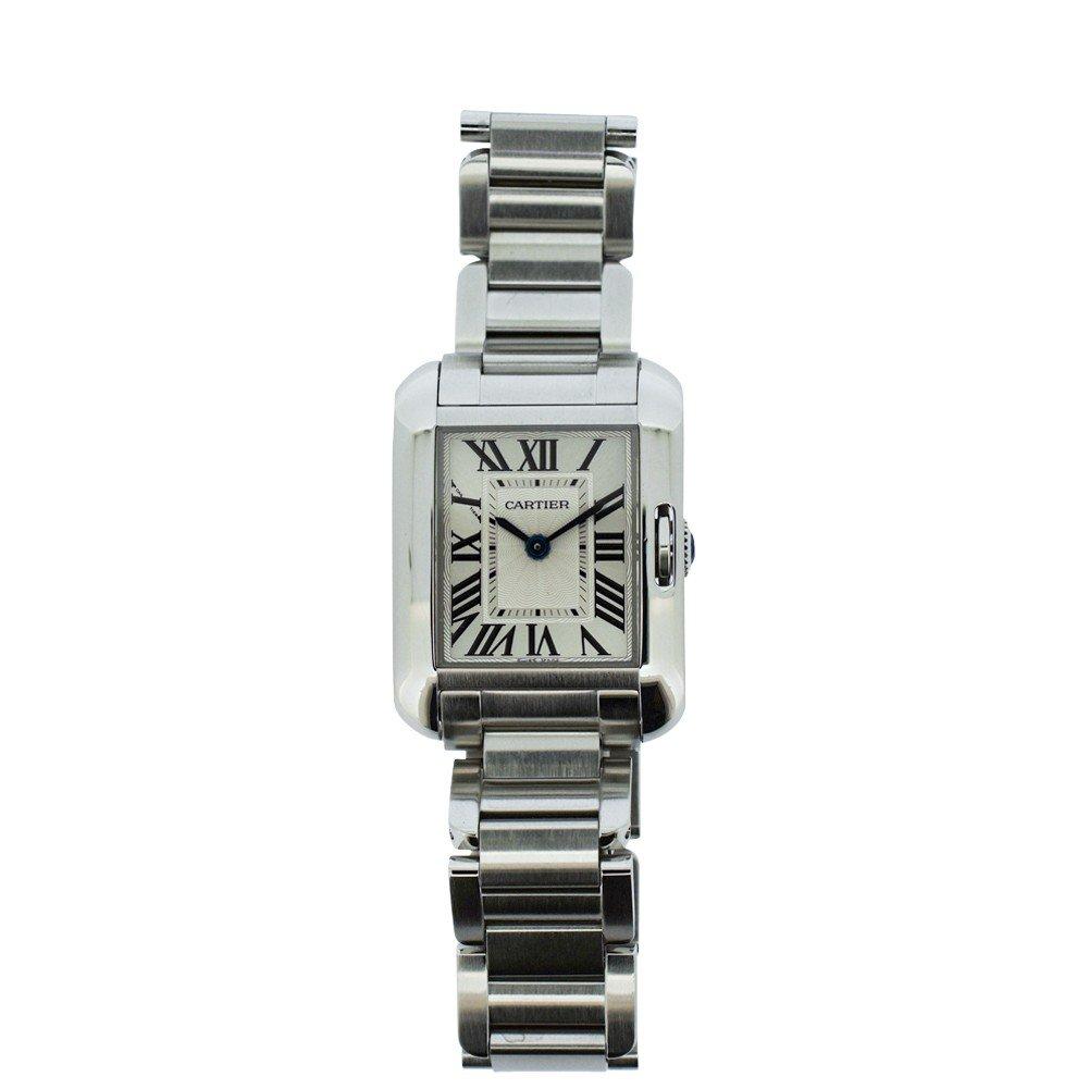 Cartier Tank Francaise quartz womens Watch W5310022 (Certified Pre-owned)