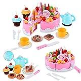 Itian Laugh & Learn Say Please Magical Tea Set Magical Rainbow Cake,54 pcs