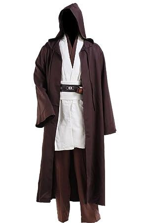 Fuman Star Wars Kenobi Jedi Tunic Cosplay Kostüm Für Erwachsene Xs