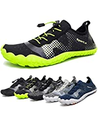 d4aec43bafa Water Shoes for Men and Women Barefoot Quick-Dry Aqua Sock Outdoor Athletic  Sport Shoes