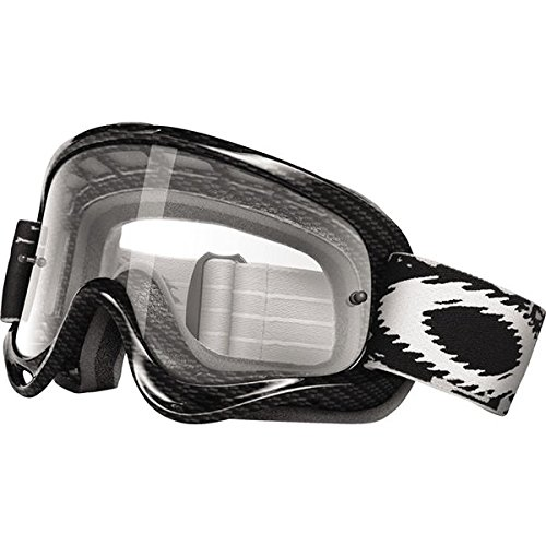 Oakley O-Frame Graphic Frame MX Goggles (True Carbon Fiber/Clear Lens, One - Carbon Goggles Fiber Oakley