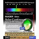 Baader Planetarium Solar Continuum Filter, 1.25'' FSOL-1