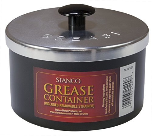 grease container with strainer - 6