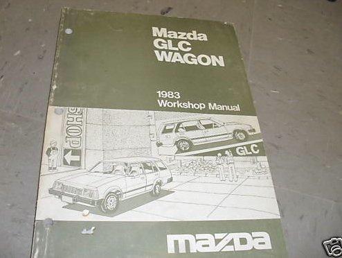 1983 Mazda GLC Wagon Service Shop Repair Manual Oem 83 ()