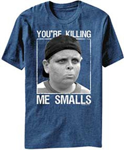 The Sandlot Men's Wendy Knows Graphic T-Shirt, Royal Heather, X-Large