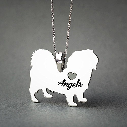 Personalised Shorthaired Pekingese Necklace - Shorthaired Pekingese Name Jewelry - Dog Jewelry - Dog breed Necklace - Dog (Pekingese Jewelry)