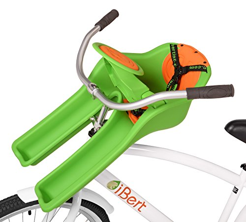 (iBert Child Bicycle Safe-T-Seat, Green )