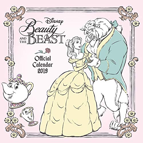 Beauty And The Beast Official 2019 Calendar - Square Wall Calendar Format