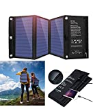Portable Foldable Solar Panel Charger, 21W Dual USB 2.4A Fast Solar Charger, Solar Phone Charger for Outdoor, Camping, Emergency, Etc.