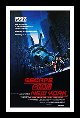 Escape from New York - 11x17 Framed Movie Poster by Wallspac